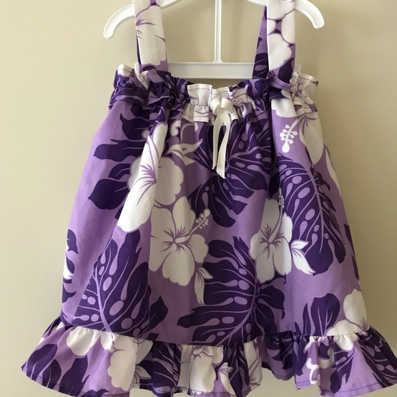 48e08ba28f1 Super adorable purple Hawaiian outfit.